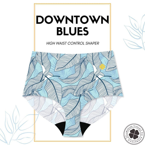 Downtown Blues - High Waist - Clubhouse Vivaldi
