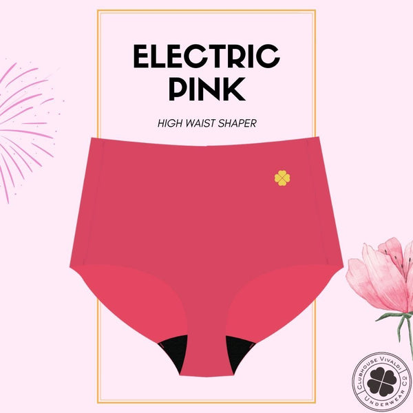 Electric Pink -  High Waist - Clubhouse Vivaldi