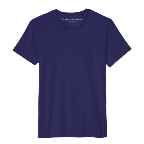 Soft Crew Tee - Berry Blue - Clubhouse Vivaldi