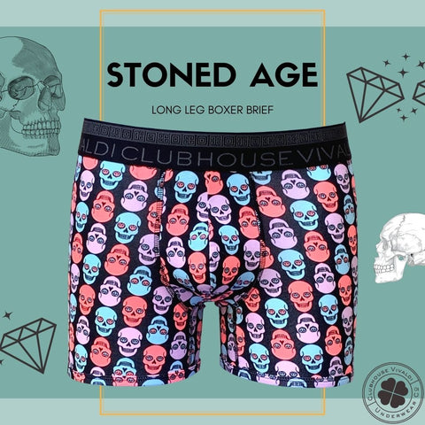 Stoned Age - Boxer Brief - Clubhouse Vivaldi