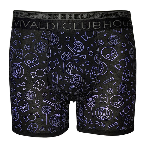 Boney Skulls- Boxer Brief - Clubhouse Vivaldi