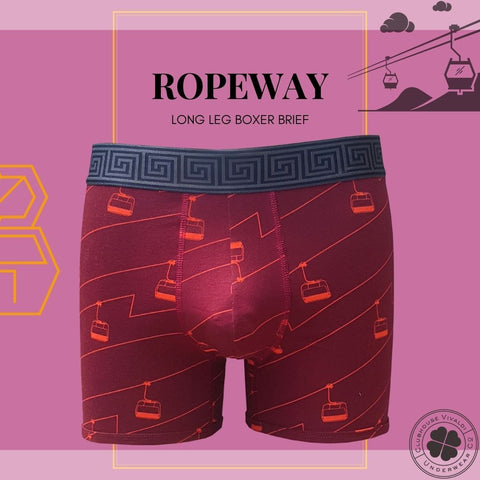 Ropeway - Boxer Brief - Clubhouse Vivaldi