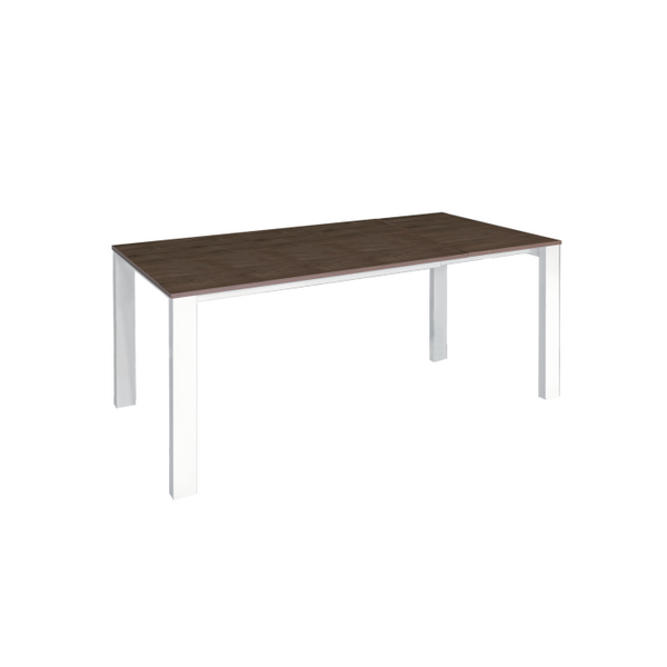 Table Noyer Noyer Mélaminé Table Mélaminé Bazic Extensible Bazic Extensible Table kXZiuOTP