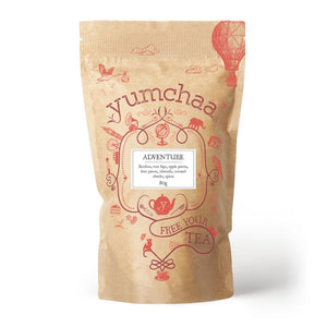 A sweet and indulgent rooibos blend