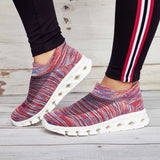 Women Casual Plus Size Sneakers Slip On Athletic Shoes