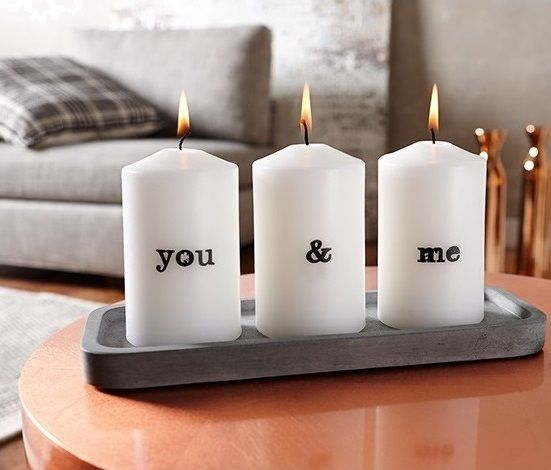 Vivid Customized Candle