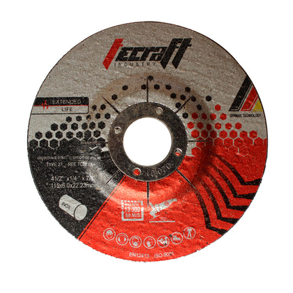 Disco de pulir metal e inoxidable tecraft industry