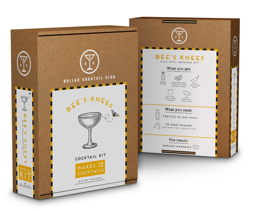The Bees Knees Cocktail Kit (Makes 12 Cocktails)