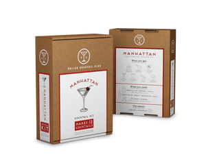 Manhattan Cocktail Kit (Makes 12 Cocktails)