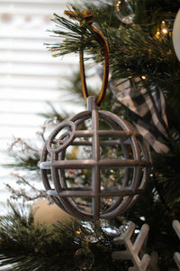 Death Star Style Ornament