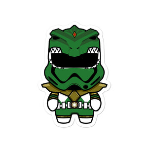 Green Trooper Sticker