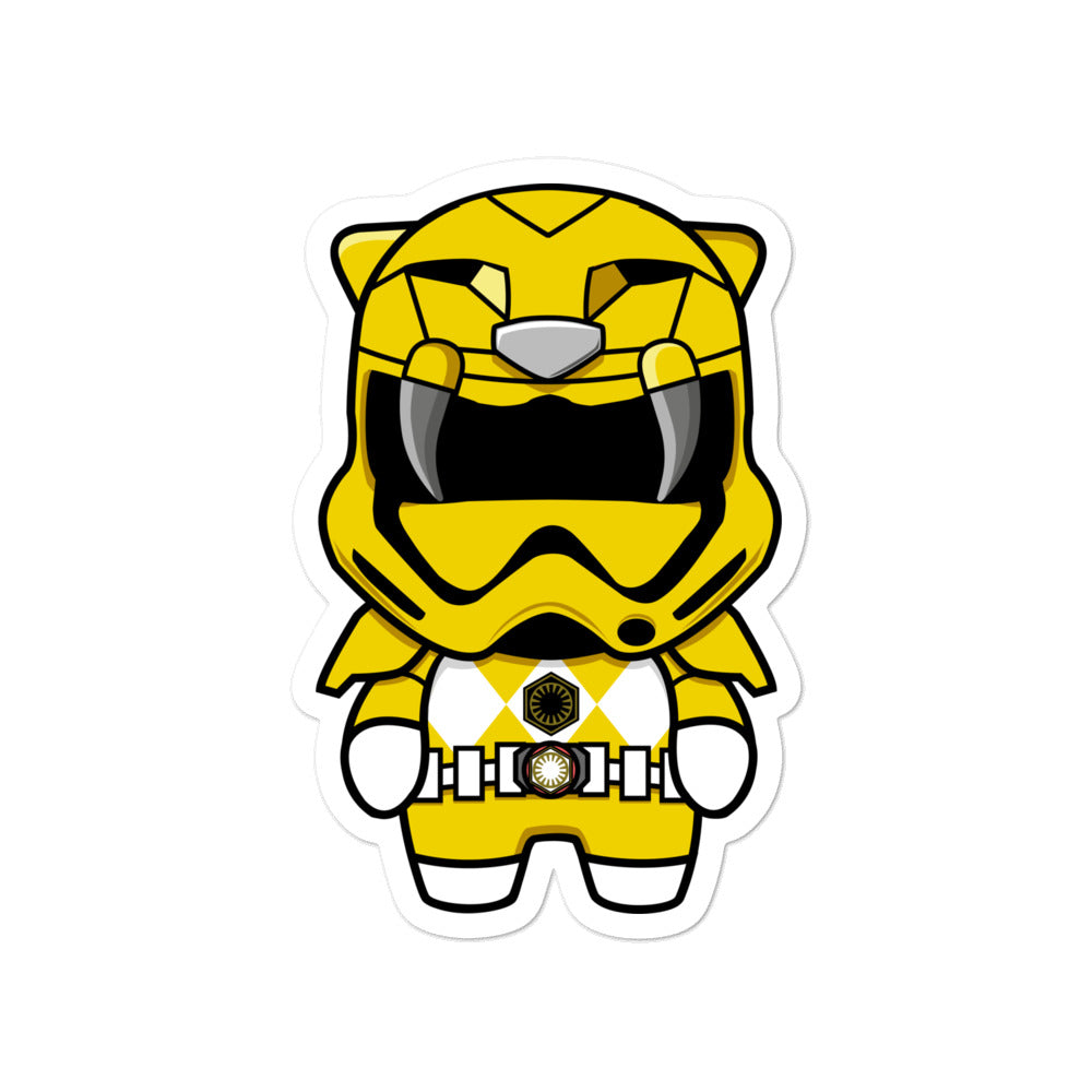Yellow Trooper Sticker
