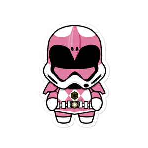 Pink Trooper Sticker