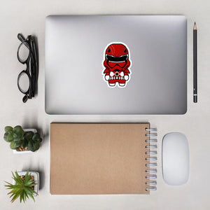 Red Trooper Sticker