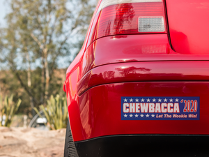 Chewie 2020 Bumper Sticker