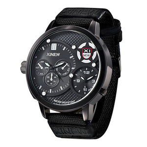Aviator Waterproof Wristwatch