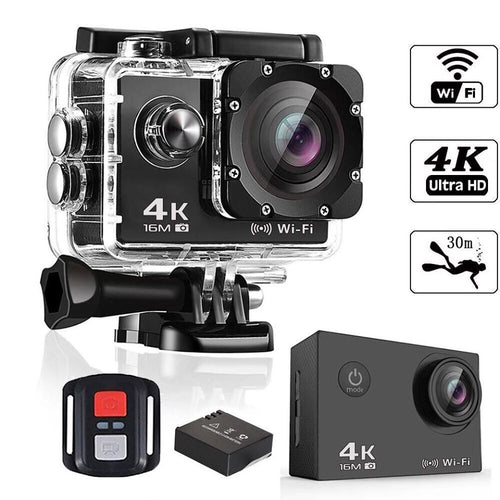 1080P HD ACTION CAMERA (FREE ACCESSORIES)