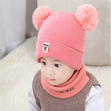 Load image into Gallery viewer, Baby Beanie and Scarf Set