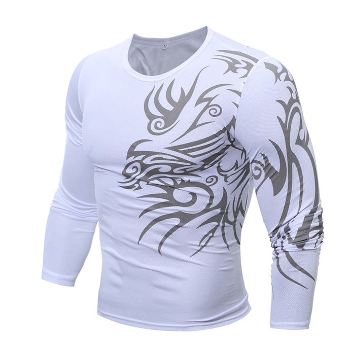 Men's Graphic Long Sleeve Shirt