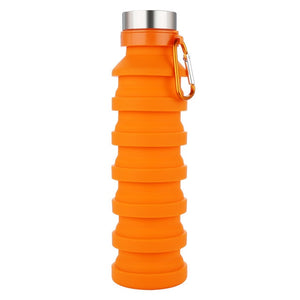 Silicone Retractable Water Bottle