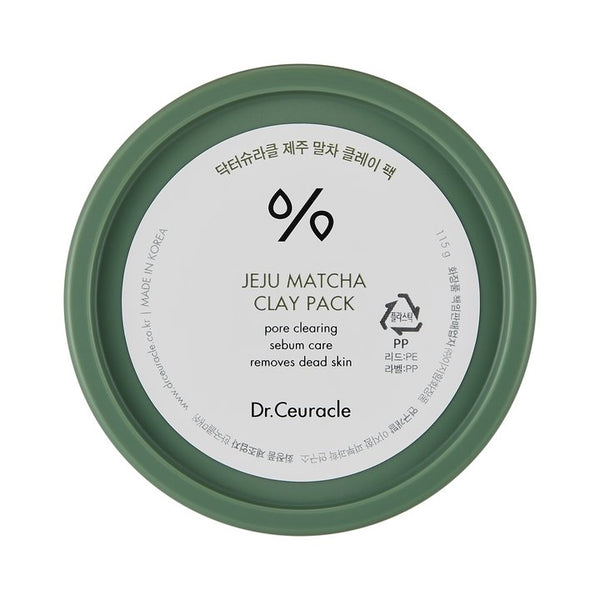 Jeju Matcha Clay Pack