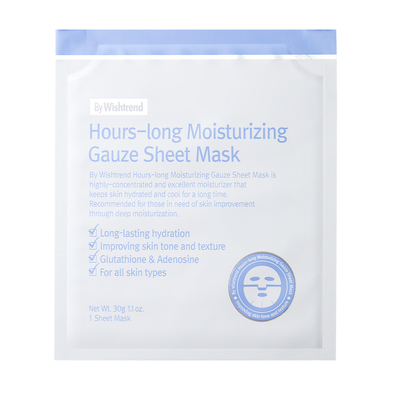 Hours Long Moisturizing Gauze Sheet Mask