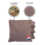 Gray All Weather Cornhole Bags