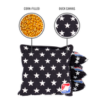 Stars Corn Filled Cornhole Bags