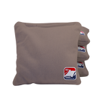 Gray Corn Filled Cornhole Bags