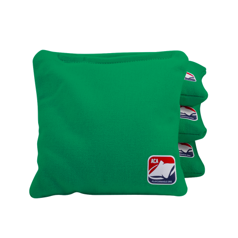 Kelly Green Corn Filled Cornhole Bags