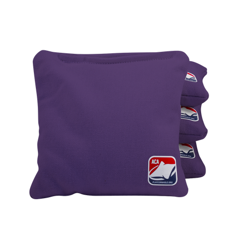Purple All Weather Cornhole Bags