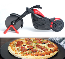 Load image into Gallery viewer, Motorcycle Stainless Steel Pizza Cutter