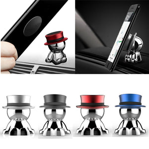 The cutest magnetic car phone holder