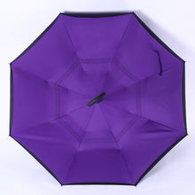 Load image into Gallery viewer, Windproof Reverse Folding Double Layer Inverted Umbrella