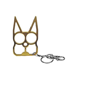 Safety kitty key ring