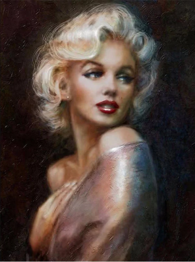 3D Large  Marilyn Monroe Lady Woman  Diamond Painting kit DIY painting style Classical. Cross Stitch Crystal Needlework Embroidery.Diamond Mosaic.