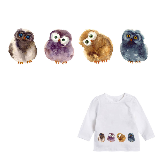 Animals Pets Chick Patch Iron On Heat Transfer Embroidery Applique for DIY Craft  Embellishment Dress T-shirt Jacket Jeans Backpack Accessory.