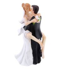 Personalized Wedding Cake Topper Figurine Bride Groom Decorations Romantic Supplies.Wedding Accessories.Flowers and  kiss.Personalized hair.