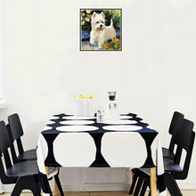 Large Diamond Painting kit Pet Dog Mosaic Embroidery  rhinestone painting Cross Stitch Crystal Needlework Kids Activity