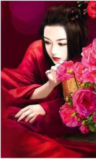 3D Small Chinese Girl  Woman Diamond Painting kit DIY painting CLASSICAL  beauty. Cross Stitch Crystal Needlework Embroidery.Diamond Mosaic.