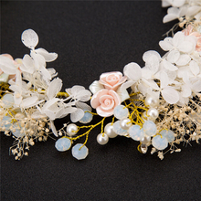 Wedding  Handmade  Prom Hair Accessories Hair Jewelry Pearl Headpiece  Hair Accessories  Baroque Wedding Bridal Crown Headband  Hair Jewelry