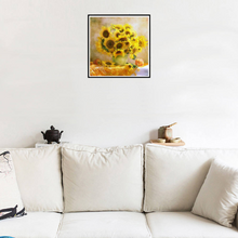 Large Sunflowers Floral Diamond Painting kit Birds Lovers Flowers Mosaic  Embroidery Drill rhinestone painting Cross Stitch Crystal Needlework Kids Activity