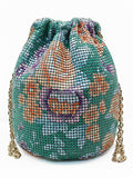LaceShe Women's Bucket Drawstring Portable Bag