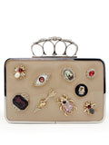 LaceShe Women's Finger Button Anti-Robbery Wallet