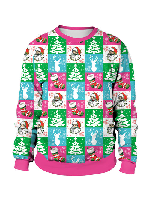 Laceshe Women's Christmas Funny Graphics Sweatshirt