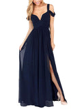 Women's Sexy Chiffon Party Dress Fashion Long Dress