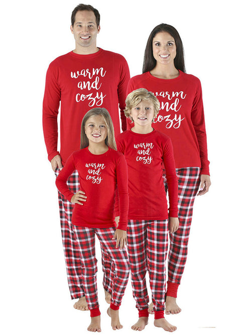 Laceshe Family Christmas Party Costume Parent-child Clothing