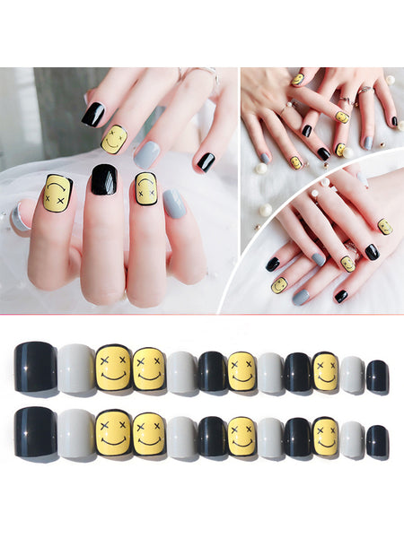 Laceshe Lovely Multi-Color Fake Nails Set