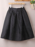 LaceShe Women's Vintage Simple Skirts