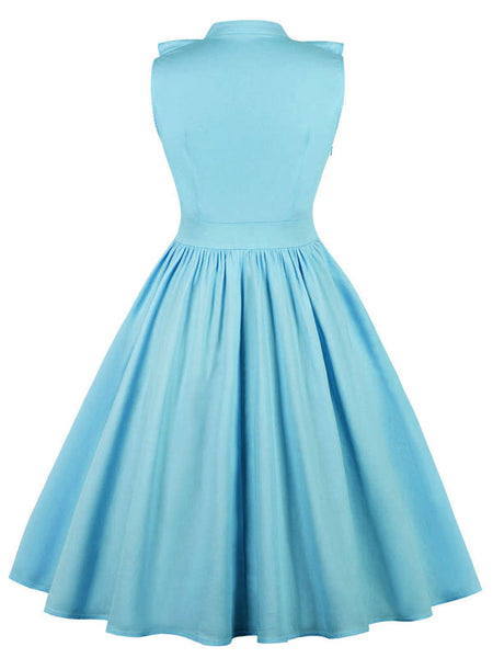 LaceShe Women's Cute Sleeveless Vintage Dress